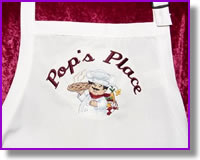 Personalized Chef Aprons by DJ