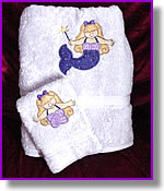 Personalized and Monogrammed Towels by DJ